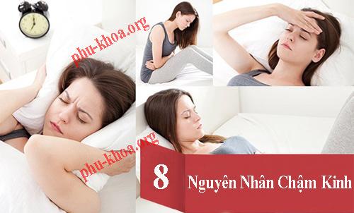 8 Nguyên nhân gây chậm kinh nguyệt ở nữ giới